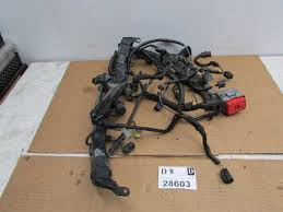 lincoln ls engine motor bay wire wiring harness cable