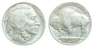 1937 Buffalo Indian Head Nickel Coin Value Prices Photos
