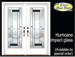 exterior doors inserts exterior fiberglass door with hurricane impact glass door inserts modern entry door inserts