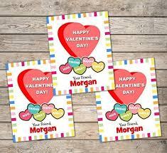 Amazon Com Kids Valentine Cards Personalized Valentine