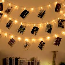 Cool Lights For Dorm Rooms Ohbingo 30 Led Outdoor Christmas Lights Photo Clips String