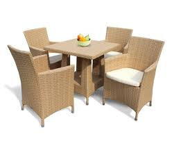 4 seater all weather wicker dining set