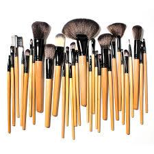 24 pieces makeup brush set