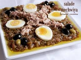 Image result for salade mechouia