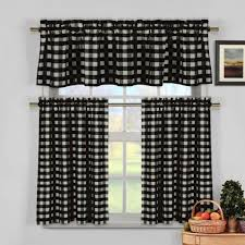 Kitchen Curtains Yellow Yellow Black And White Kitchen Curtains Cliff Kitchen