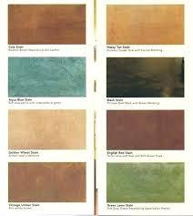Concrete Floor Color Chart Stain Concrete Floor Colors Comoganareninternet Co