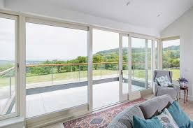 with our sliding door you do not need to worry whether there is enough space for the door to open outside or inside because the sliding doors have no