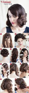 diy faux bob 20 elegant art deco bridal hair makeup ideas