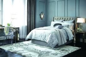 rug placement amazing bedroom