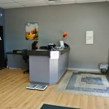 photo of willow park village chiropractic office calgary ab canada front of