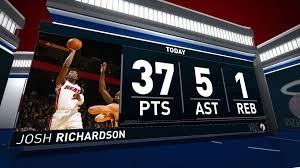 Josh Richardson (37 points) Highlights ...