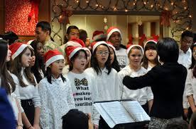 Image result for kids singing christmas carols