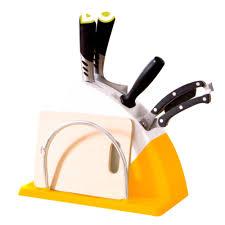multifunction color plastic kitchen knife holder universal knife