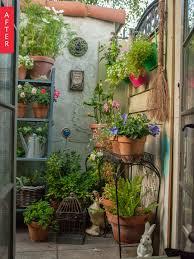 plain patio to secret garden