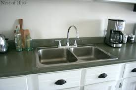 paint your kitchen countertops faux granite nest of bliss on can i chalk paint my kitchen countertops