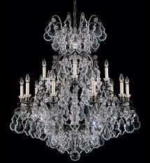 schonbek 2773 48 versailles 38 inch antique silver crystal chandelier undefined
