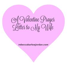a valentine prayer letter to my spouse