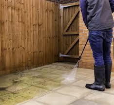 how to clean a concrete patio riccio