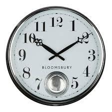 37cm diameter pendulum wall clock in