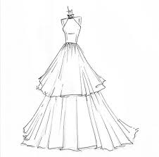 Simple Dress Drawing At Getdrawingscom Free For Personal Use