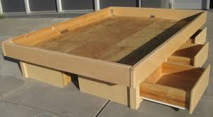 How To Make Drawers Platform Bed With Drawers Pictures Of Gallery Including How To