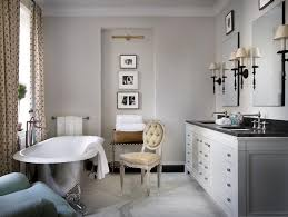 Shining Silver Clawfoot Tub Design For Elegant French Country