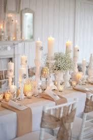 Winter White Tablescape Idea Images