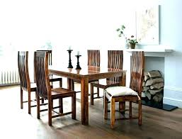 image of home creatives fetching round table 6 person dining wood for ta dining table