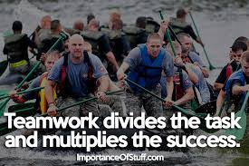 importance of teamwork essay and speech importance of teamwork quote
