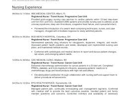 Resume Objective Statement Registered Nurse Resume Objective Nursing Resume Objective New 93