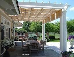 diy patio awning plans outdoor