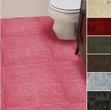 walltowall bathroom carpet