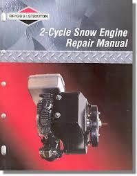 276535 Briggs & Stratton 2-Cycle Snow Engine Repair Manual