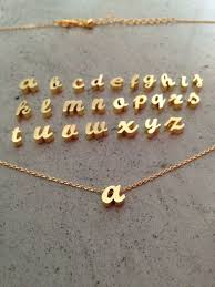 9d6dbd701f80cab4c c384d gold monogram necklace name necklace