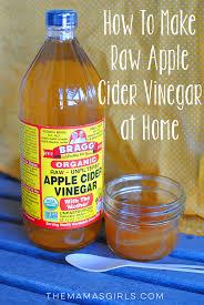 how to make raw diy apple cider vinegar at home