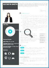 Visual Resume Template Word Lazine Net