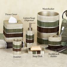 Sage Green Kitchen Accessories Bathroom Accessory Sets Touch Of Class