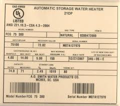 A O Smith Recalls Gas Water Heaters Due To Fire And Carbon