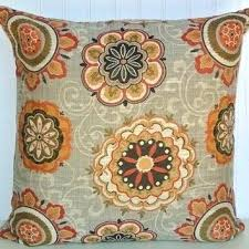 orange accent pillows. Burnt Orange Decorative Pillow Accent Pillows Red Grey Cover Or Throw And Green