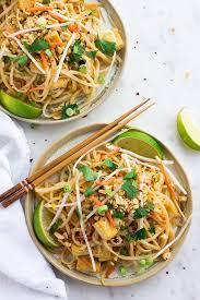 30 minute vegan pad thai nora cooks