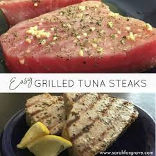 Easy Grilled Tuna Steak Recipe