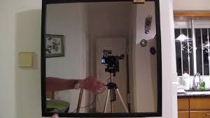 magic mirror using raspberry pi and inexpensive ikea frame