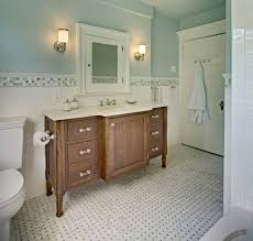 Gorgeous Palladian Blue convention New York Traditional Bathroom