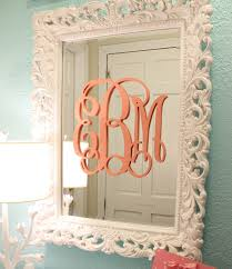 awesome monogrammed wall decor wood monogram letters decorations diy for