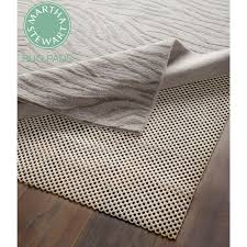 martha stewart non slip hard floor rubber rug pad 3 x 5 set of 2 com