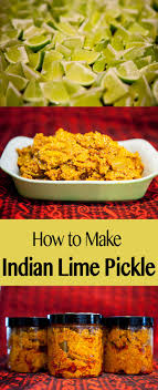 Indian Lime Pickle | Fermentation Recipe