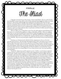 the iliad teaching resources teachers pay teachers  the iliad reading questions and activities