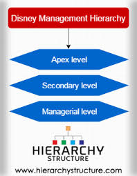 Disney Management Hierarchy Organizational Structure Of