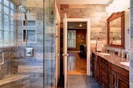 rustic bathroom. master \u0026 guest bathroom makeoverswood- rustic-bathroom rustic