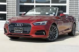 black audi a5.  Audi New 2018 Audi A5 Cabriolet Matador Red Metallicblack Roof Car For Sale   WAUYNGF58JN009773 For Black